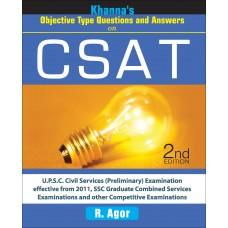 Khanna's CSAT [Objective Type Ques. & Ans.]